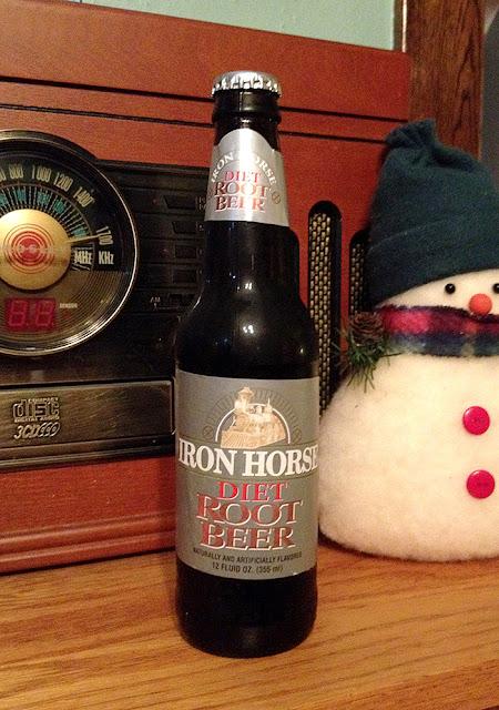 Iron Horse Diet Root Beer
