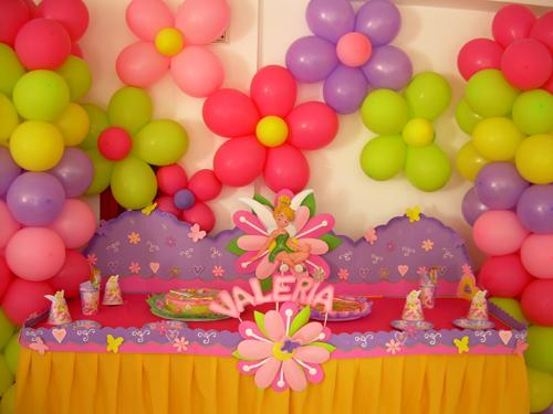 Dulces pasteles y celebraciones decoraci n de fiesta de for Decoracion para fiesta de cumpleanos de nina