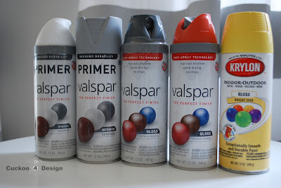 valspaar and crylon spray paint