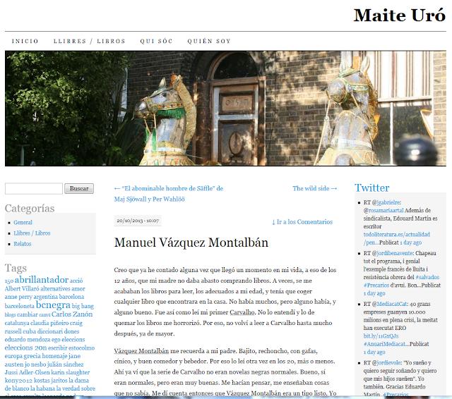 http://maiteuro.wordpress.com/2013/10/20/manuel-vazquez-montalban/