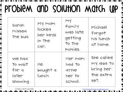 Worksheet Problem And Solution Worksheets fourth and ten problem solution freebie a new blogger on the blog block