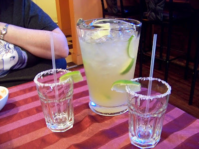 A tasty pitcher of margaritas at Cascada Mexican Restauant in Beacon, NY!