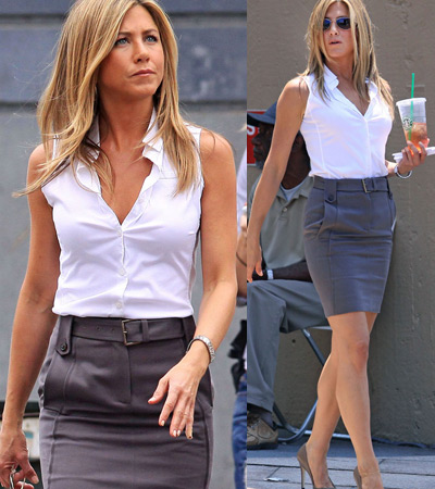 El Armario De Las It Working Style De Jennifer Aniston