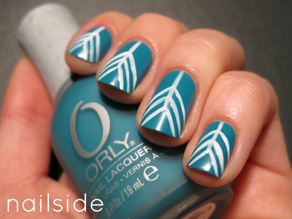 Arrow Tail Nail Art Design Arrow Tail