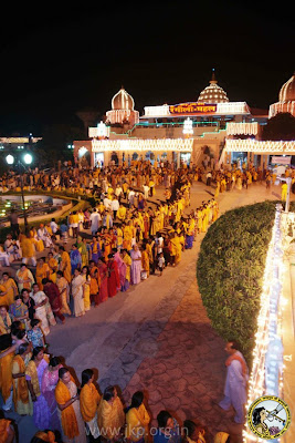 Guru Poornima 2012 with Jagadguru Kripaluji Maharaj at Barsana Dham