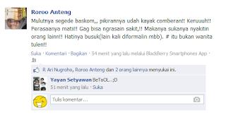 Kumpulan Status FB Gokil, Kocak dan Keren