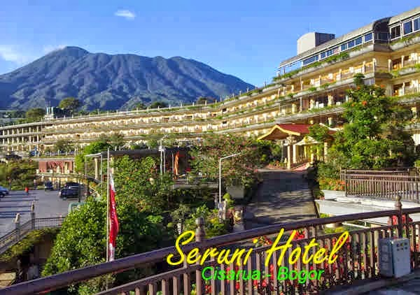 [FOTO] PENYEBAB HOTEL SERUNI CISARUA PUNCAK DISEGEL DAN DIBONGKAR 2015