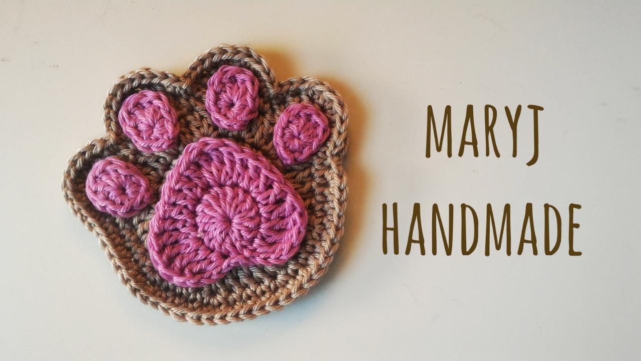 Amigurumi Uncinetto Tutorial Italiano : Maryj handmade zampa all uncinetto how to crochet a paw