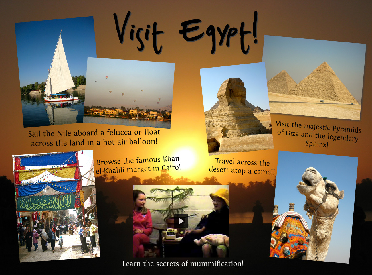 Egypt travel brochure images reverse search for Ancient egypt brochure