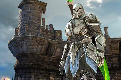 Infinity Blade Screenshot from Apple Store