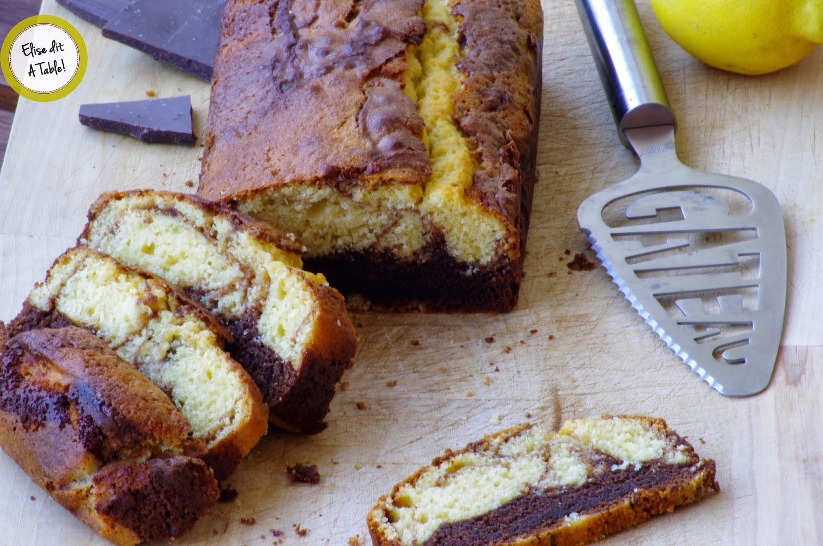 cake citron chocolat