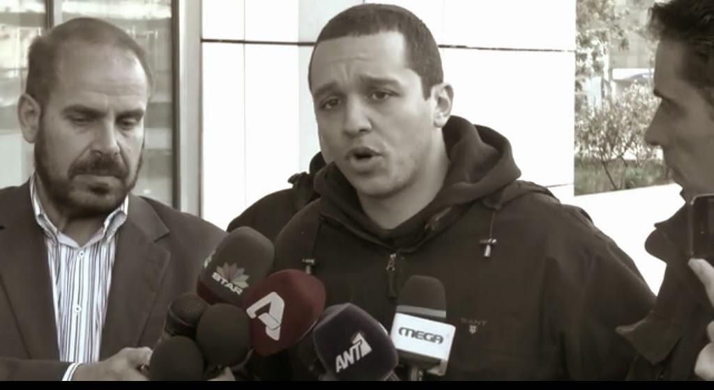 Ηλίας Κασιδιάρης: Οι τρομοκράτες κυκλοφορούν ελεύθεροι, τα λαμόγια του ΠΑΣΟΚ και της Νέας Δημοκρατίας κυκλοφορούν ελεύθερα, και οι μόνοι που σύρονται σε ανακρίσεις και παράνομες φυλακίσεις είναι οι βουλευτές της Χρυσής Αυγής