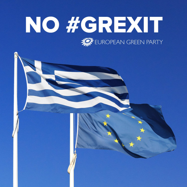 Ευρωπαίοι Πράσινοι: This is about Europe and not just about Greece