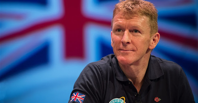 UK ESA astronaut Tim Peake. Credit: UK Space Agency
