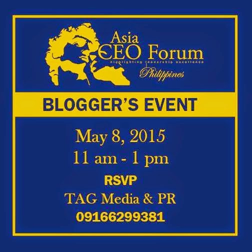 Asia CEO Forum Blogger's Event