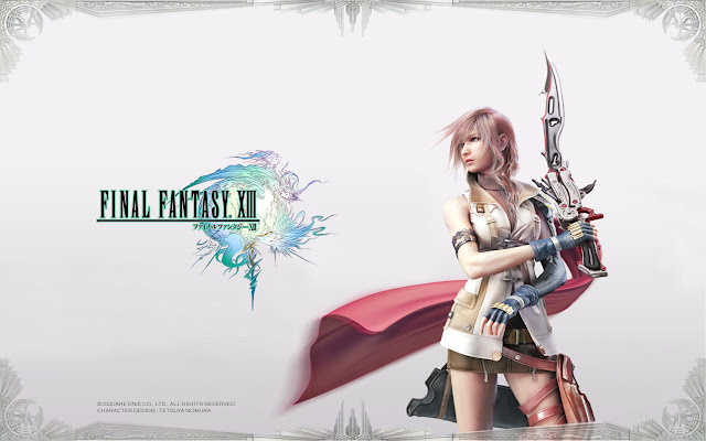 ff13 ffxiii final fantasy 13 lightning wallpaper background