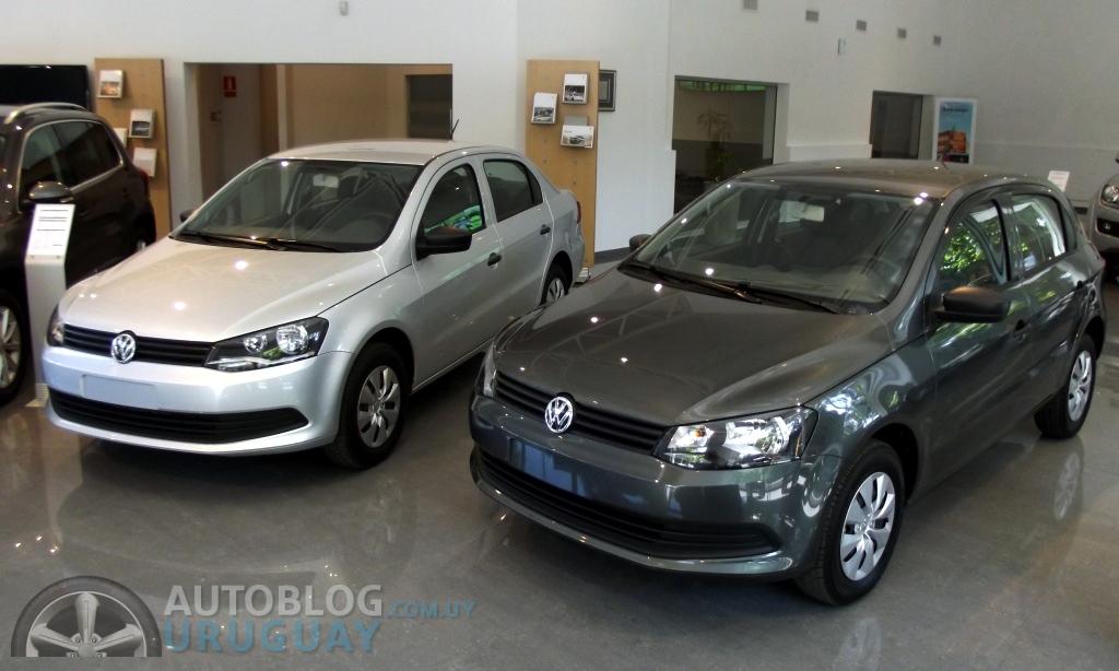 Los nuevos Volkswagen Gol Hatch y Sedán en su variante entrada de