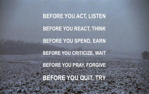 Before You Listen Motivational Sayings In English My Quotes Images Classy Motivational Sayings
