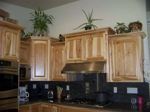 Scott River Custom Cabinets Hickory Cabinets With Raised Panel