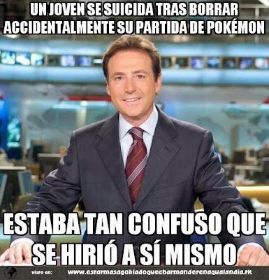 Chiste de Matías Prats partida Pokémon