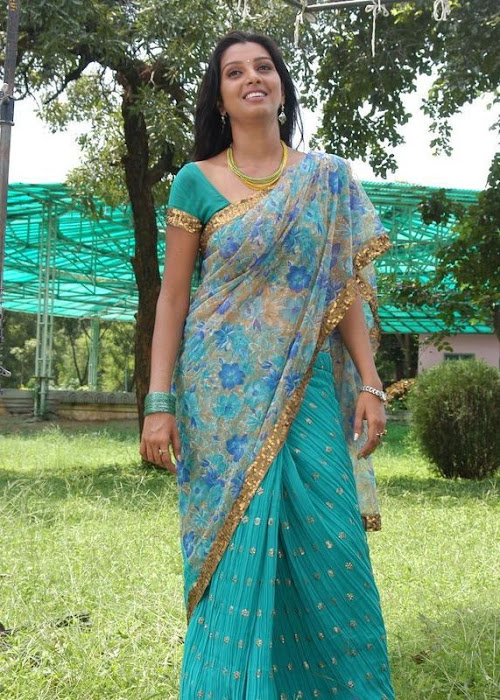 madhulika in saree latest photos