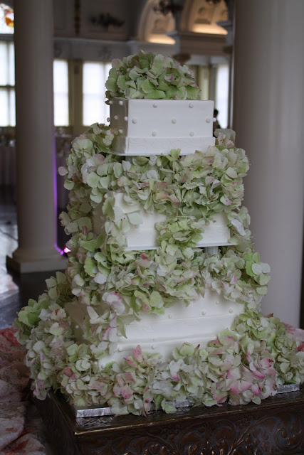 Hydrangea Cake Flowers - Splendid Stems Floral Designs