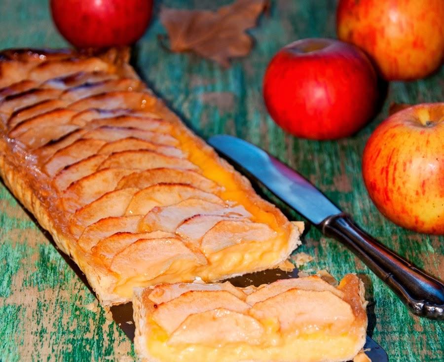 hojaldre de manzana