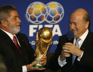 O PT e a Fifa foram feitos um para o outro