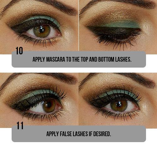 Tutorial de maquiagem olho castanho 7
