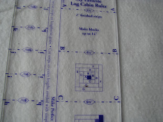 detail log cabin ruler