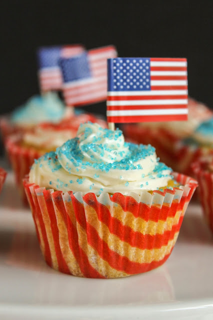 Vanilla Coconut Flour Cupcakes | The Chef Next Door