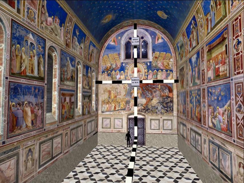 Giotto Cappella Degli Scrovegni 3d Winter Design