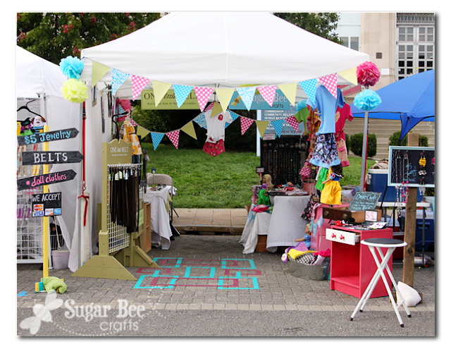 Craft Fair Booth Set Up And Tips Sugar Bee Crafts