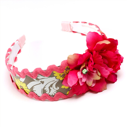 How To Make Spring Flower Headband