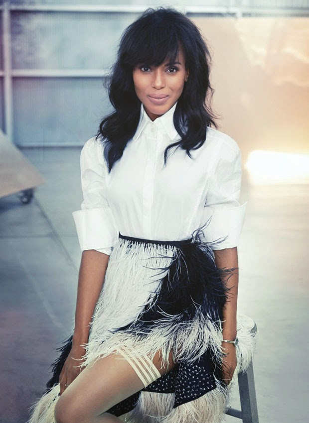 Fashion World: Kerry Washington Covers Flare Magazine