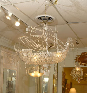 1st dibs crystal ship chandelier