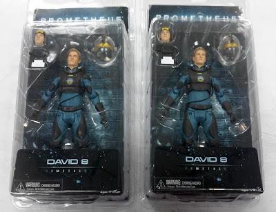 NECA Prometheus Series 2 - David 8 (packaged)