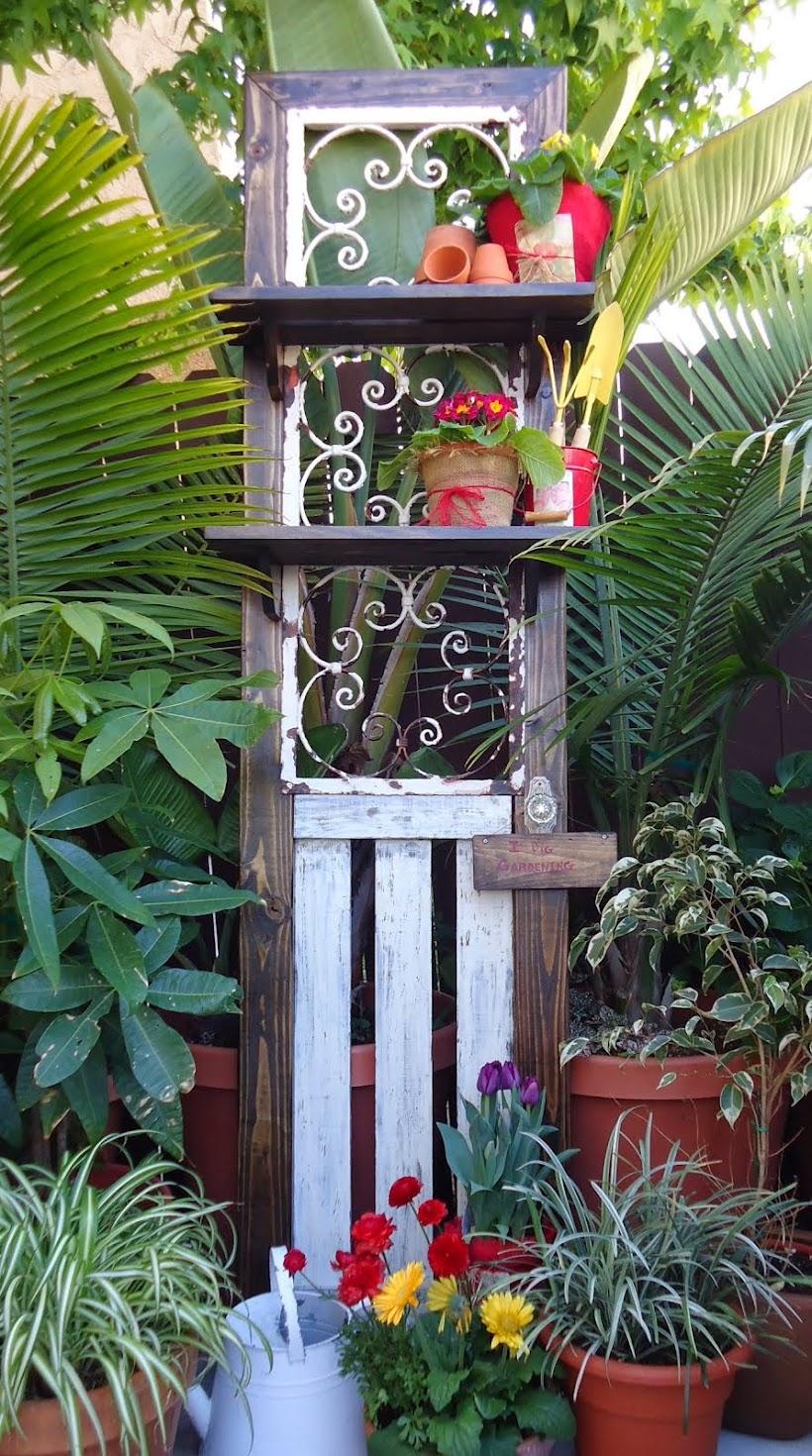 Vintage Wrought Iron to Garden Door - SOLD