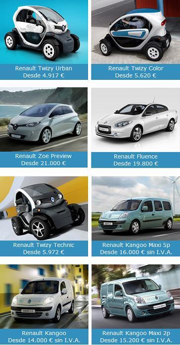 coches electricos precios
