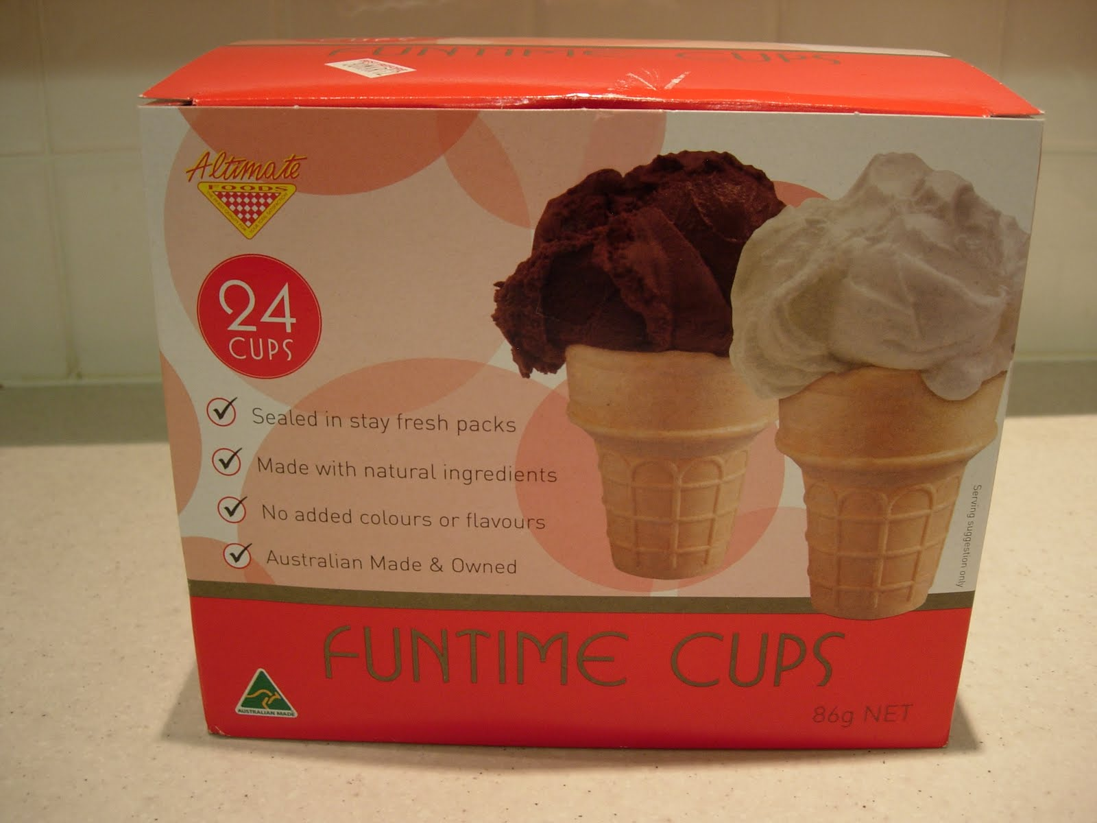 Nut Free Ice Cream Cake Recipe