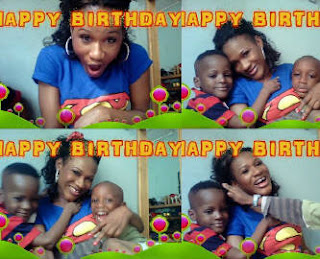 Exclusive..Tuface Wife Sumbo ,Birthday Pose With Kids
