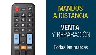 VENTA Y REPARACIÓN DE MANDOS A DISTANCIA