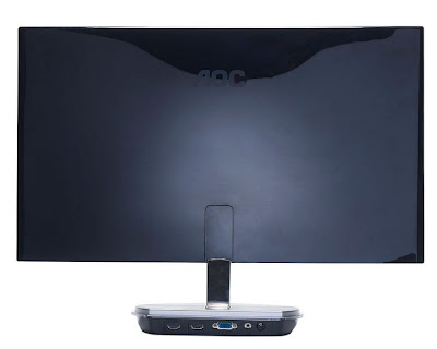 AOC i2353Fh LCD Full HD LED backlight IPS monitor Back