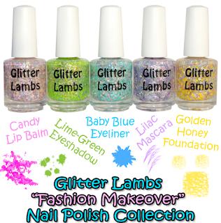 Glitter Lambs Nail Polish