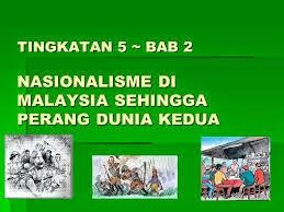 Soalan Dan Skema Markah Sejarah Kertas 3 - Nasionalisme di Malaysia sehingga Perang Dunia Kedua