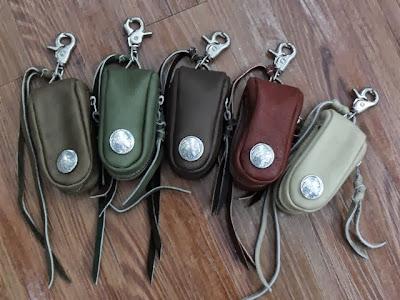 TTK x Dress Code 皮具 第三彈 Buffalo Leather - Leather Key Bag