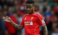 Liverpool's Raheem Sterling has instigated contract talks with club officials before Sunday's last game of the season against Stoke.