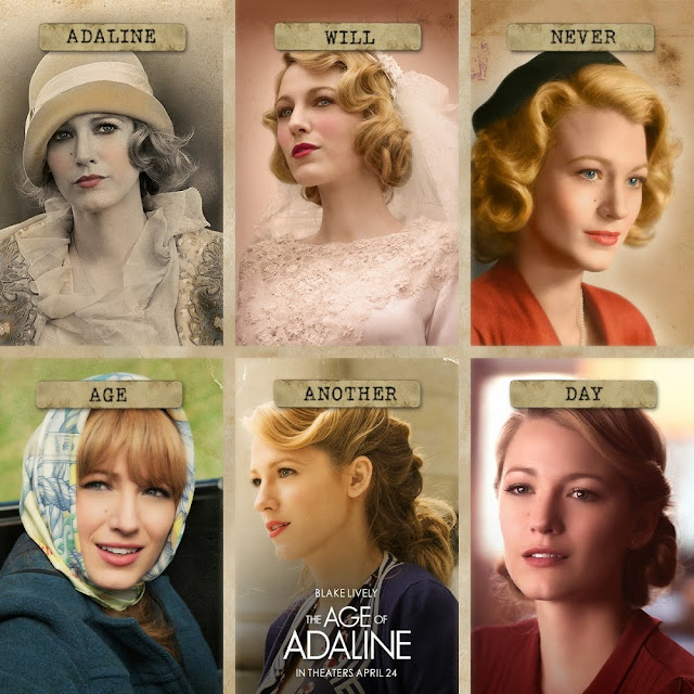 Age of Adaline through the years blake lively