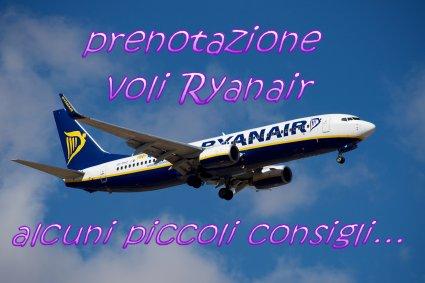 consigli Ryanair