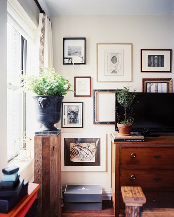 Vintage apartment inspiration: a cool vintage industrial style ...